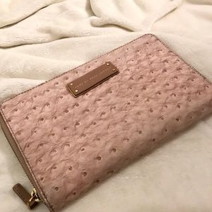 Marc by Marc Jacobs pink oversized wallet